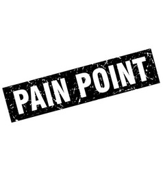 Square grunge black pain point stamp vector