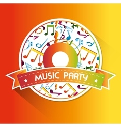 Music art graphic vector