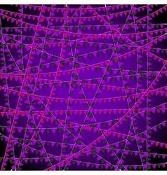 Festival banner bg vector image vector image