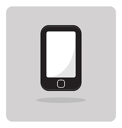 Flat icon mobile phone vector