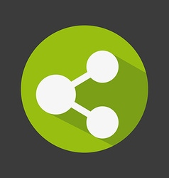 Share icon design vector