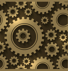 Gear design abstract background Gears and vector image