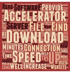 Download accelerators text background wordcloud vector