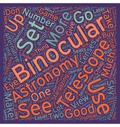 Astronomy binocularsua great alternative 1 text vector