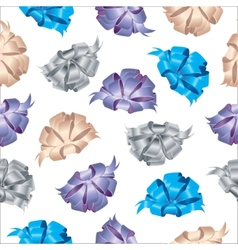 Bows abstract seamless pattern vector