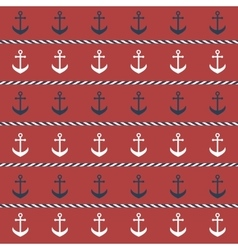 background with anchors vector image vector image