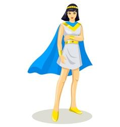 Egyptian princess vector
