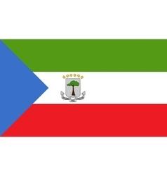 Equatorial guinea flag image vector