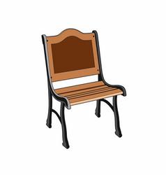 Garden seat vector