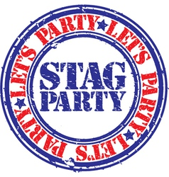 Stag party vector