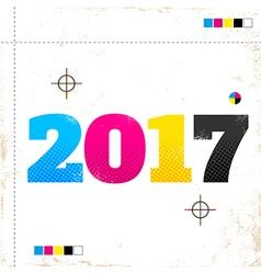 2017 cmyk vector