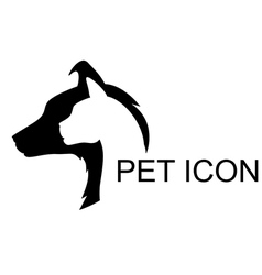 Pet icon vector