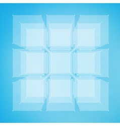 Abstract mesh background Futuristic vector image vector image