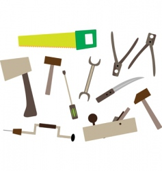 joiners tools vector image vector image