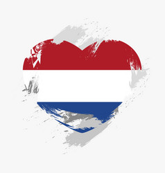 Flag of the netherlands vector
