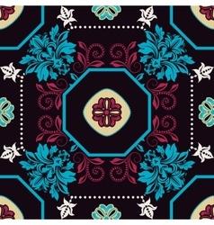 Geometrical tile pattern ornamental background vector