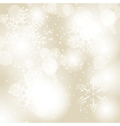 Abstract christmas snowflake background vector