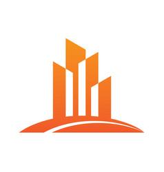 Home building company logo vector