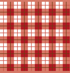 Scottish plaid pattern seamless vector
