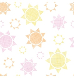 Abstract textile colroful suns geometric seamless vector