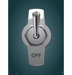 Metallic toggle vector