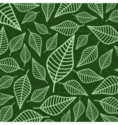 leaf pattern vector image