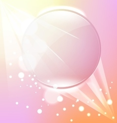 Abstract pink frame background vector