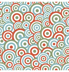 Abstract circle seamless vector image