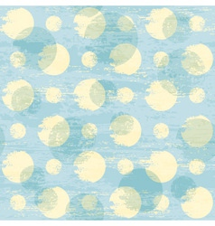 grunge dots pattern vector image