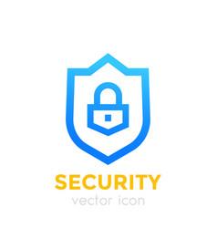 Shield icon security concept vector
