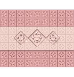 Geometric ornament pattern vector