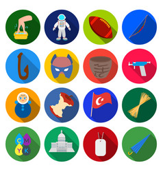 Hobby tourism history and other web icon in vector