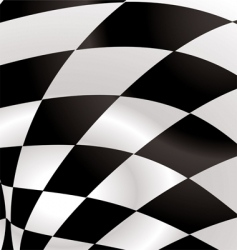 checkered square vector image