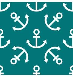 Anchor web icon flat design seamless pattern vector