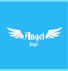 angel logo vector image vector image