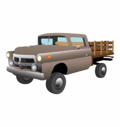 Old country car vector