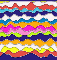 Popart abstract plastic background vector