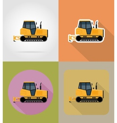 transport flat icons 30 vector image