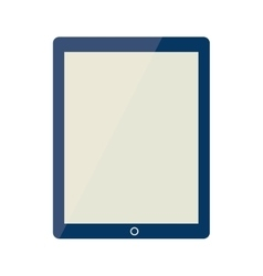 Tablet phone technology icon vector