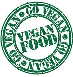 Vegan food vector image