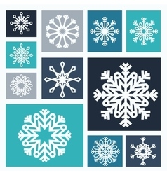 Snowflake icon design vector