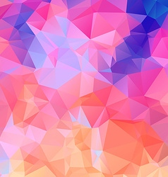 Abstract colorful lowpoly background eps10 vector