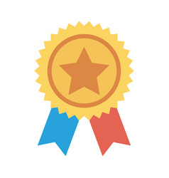 Badge award vector