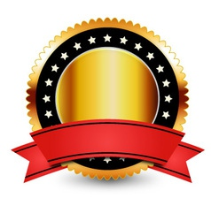 Guarantee badge vector