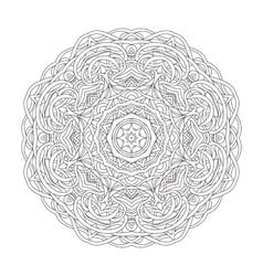 Mandala Vintage decorative vector image vector image