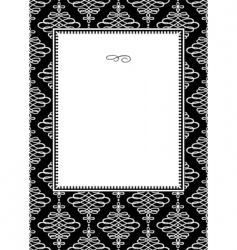 pattern template vector image