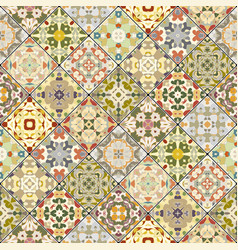 Square scraps in oriental style vector
