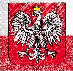 Polish crest vector