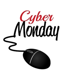 Cyber monday ecommerce shopping vector
