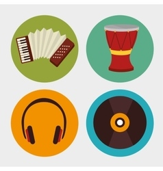 Music equipment and technology vector